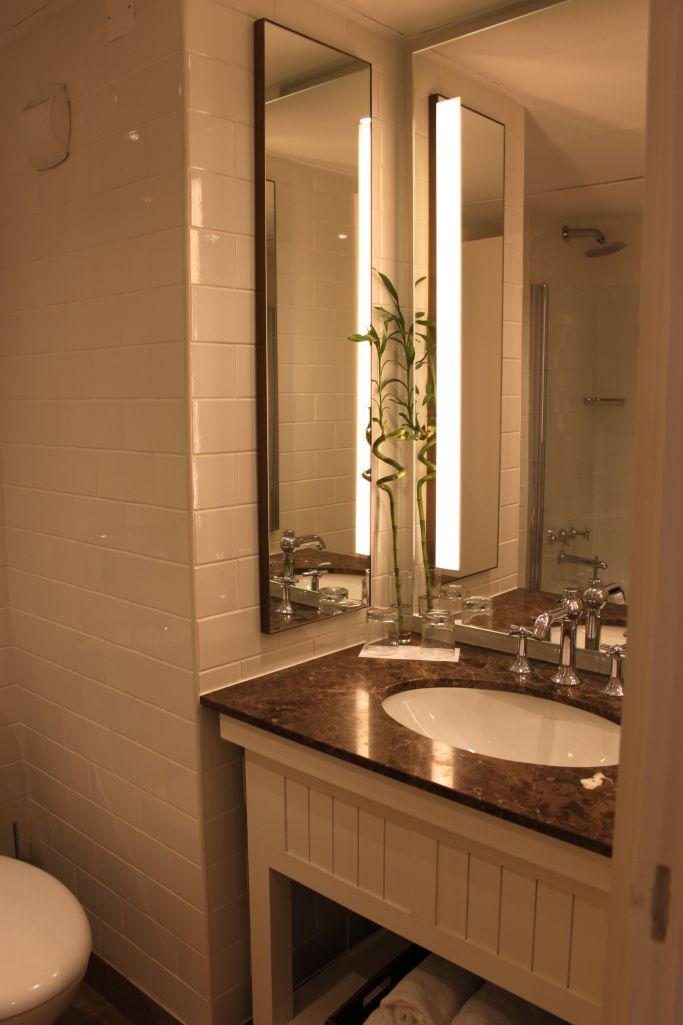 bagno hotel Columbus Montecarlo di #viaggiareapois