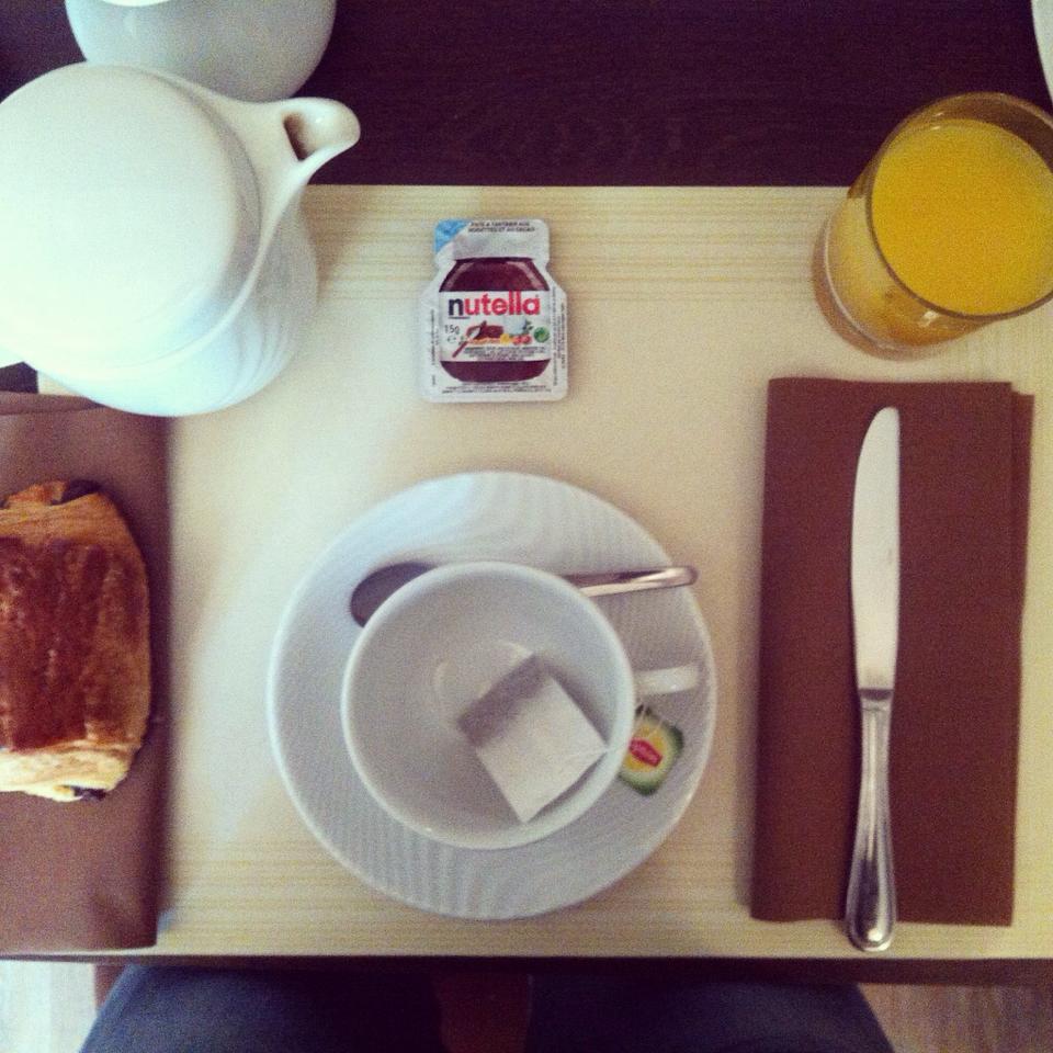 colazione hotel Carolina a Cannes di #viaggiareapois