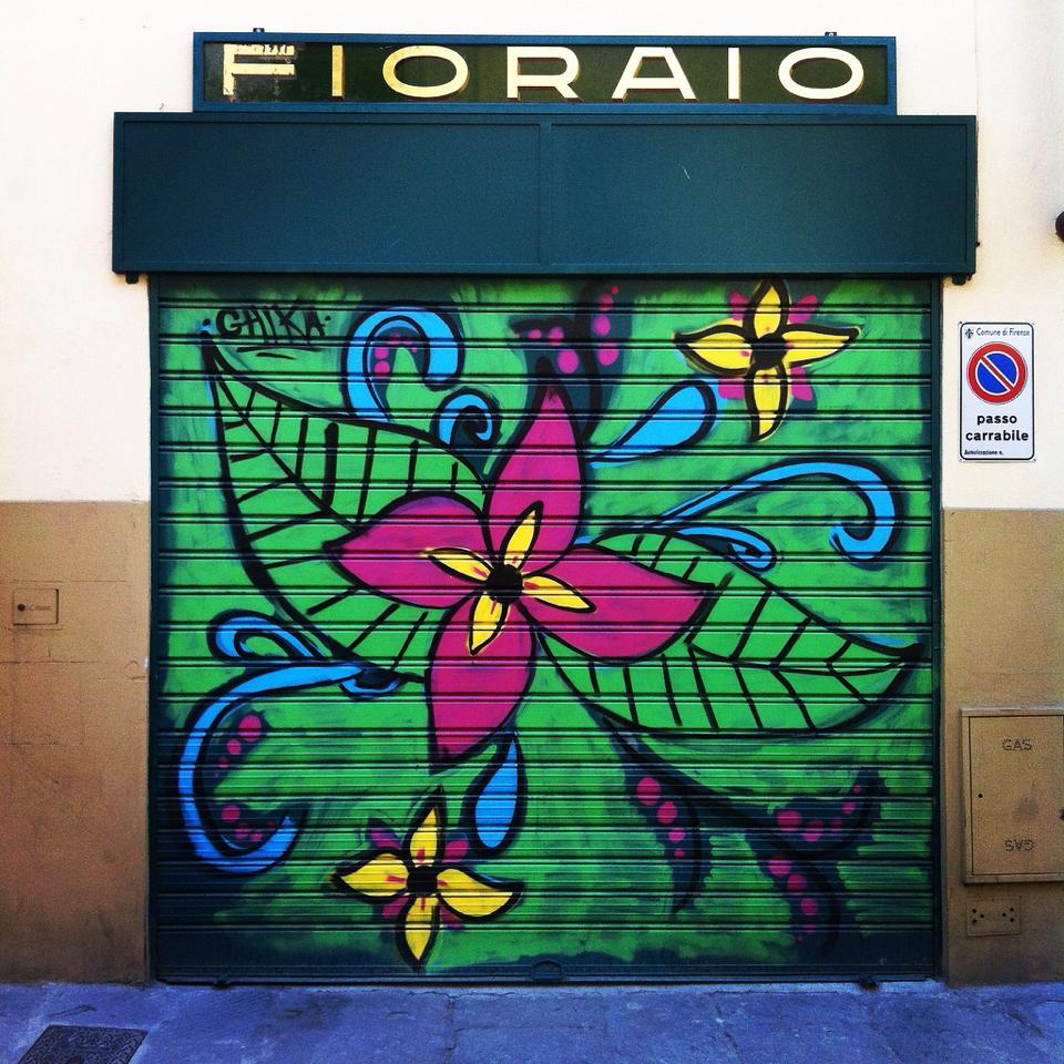 il fioraio di Firenze di #viaggiareapois