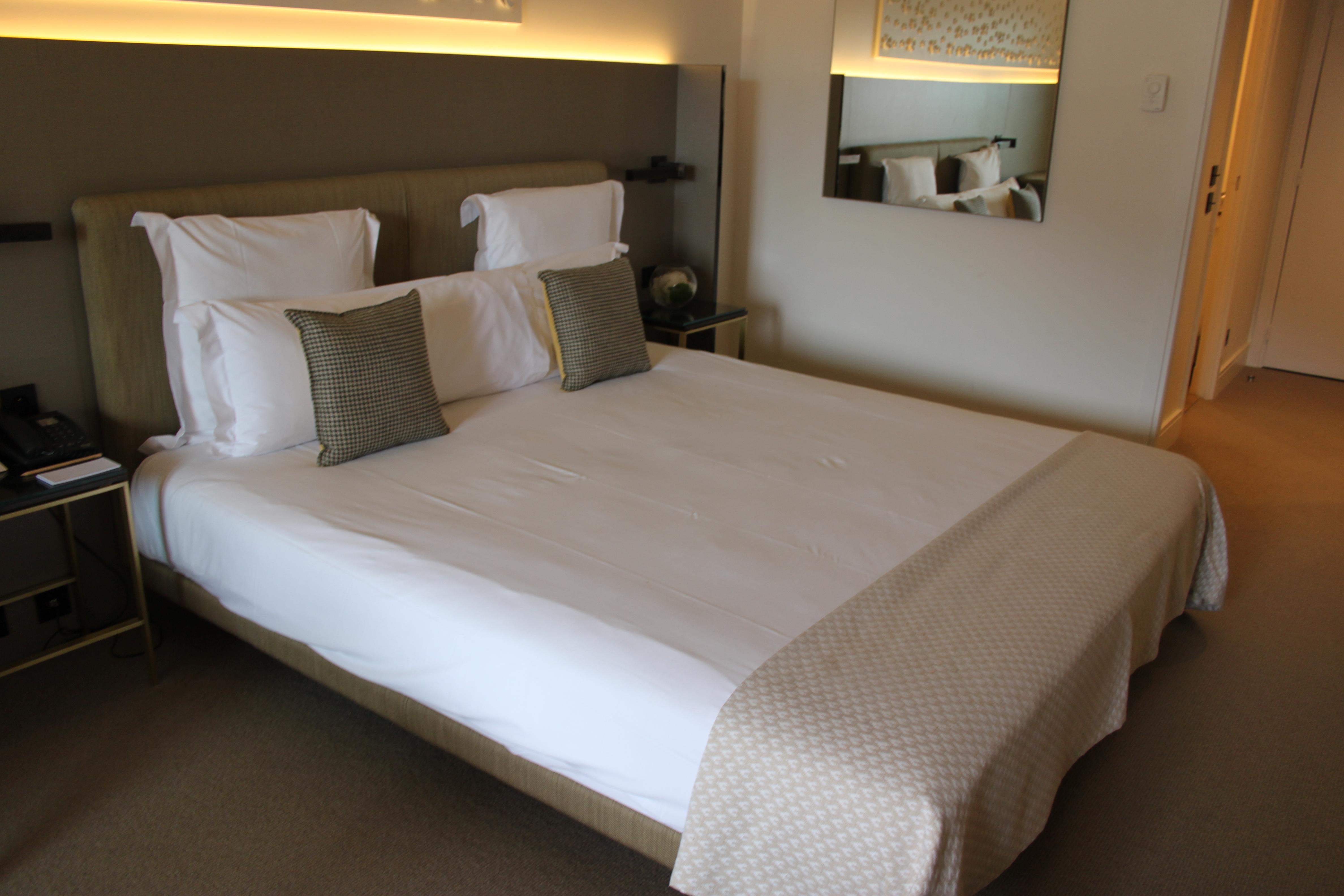 letto Columbus Hotel di Montecarlo di #viaggiareapois
