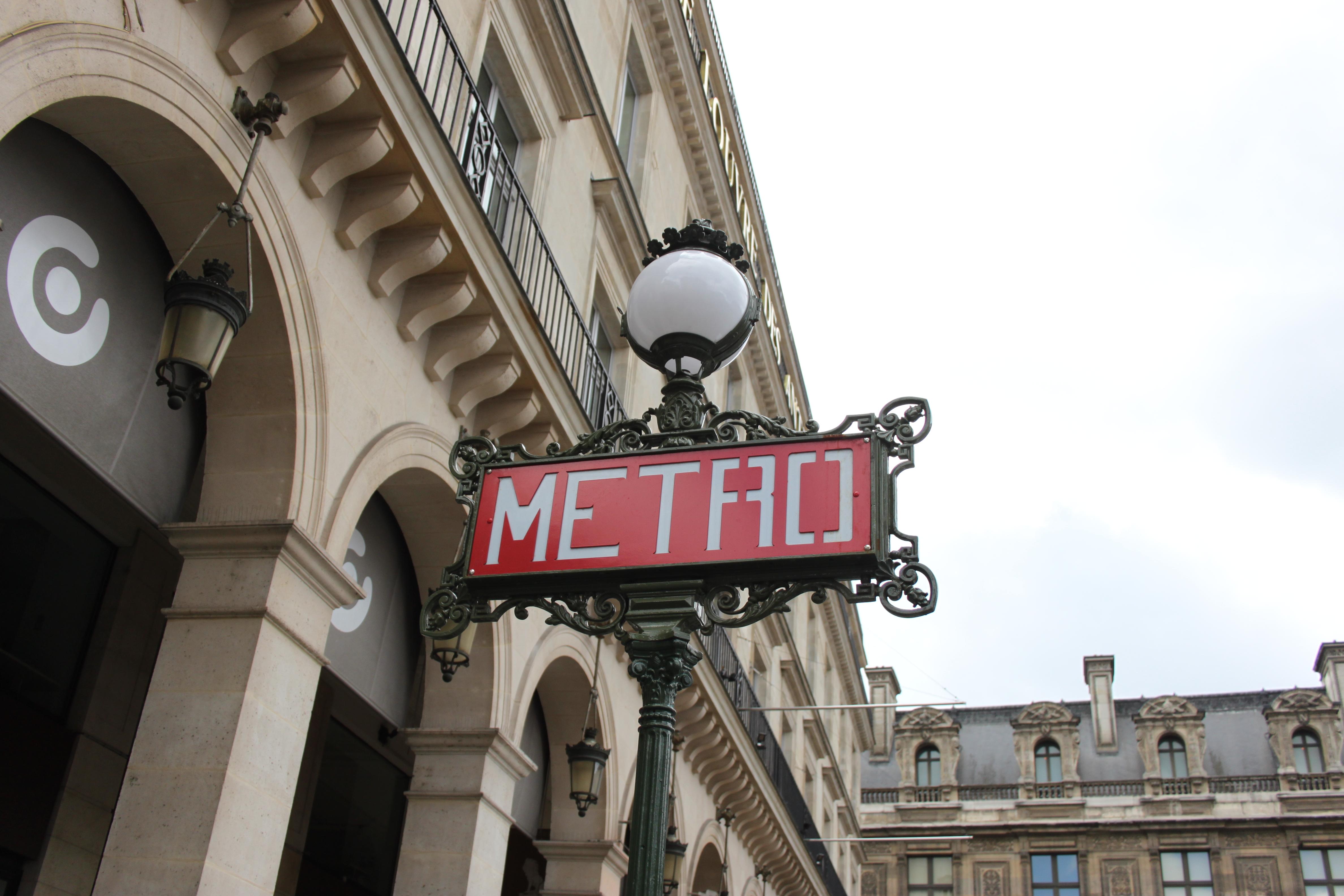 metro parigina di #viaggiareapois