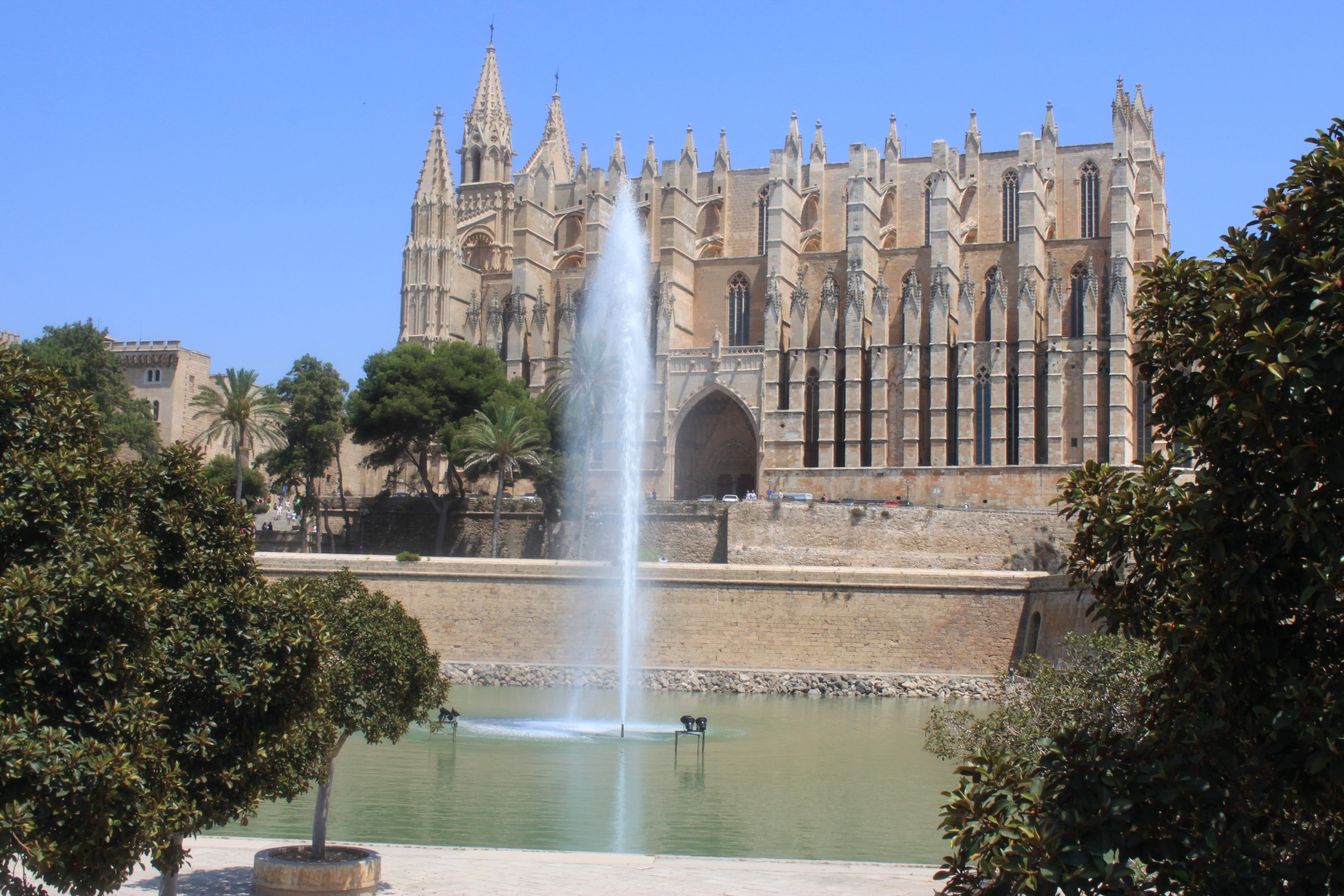 fronte cattedrale di palma di maiorca di #viaggiareapois