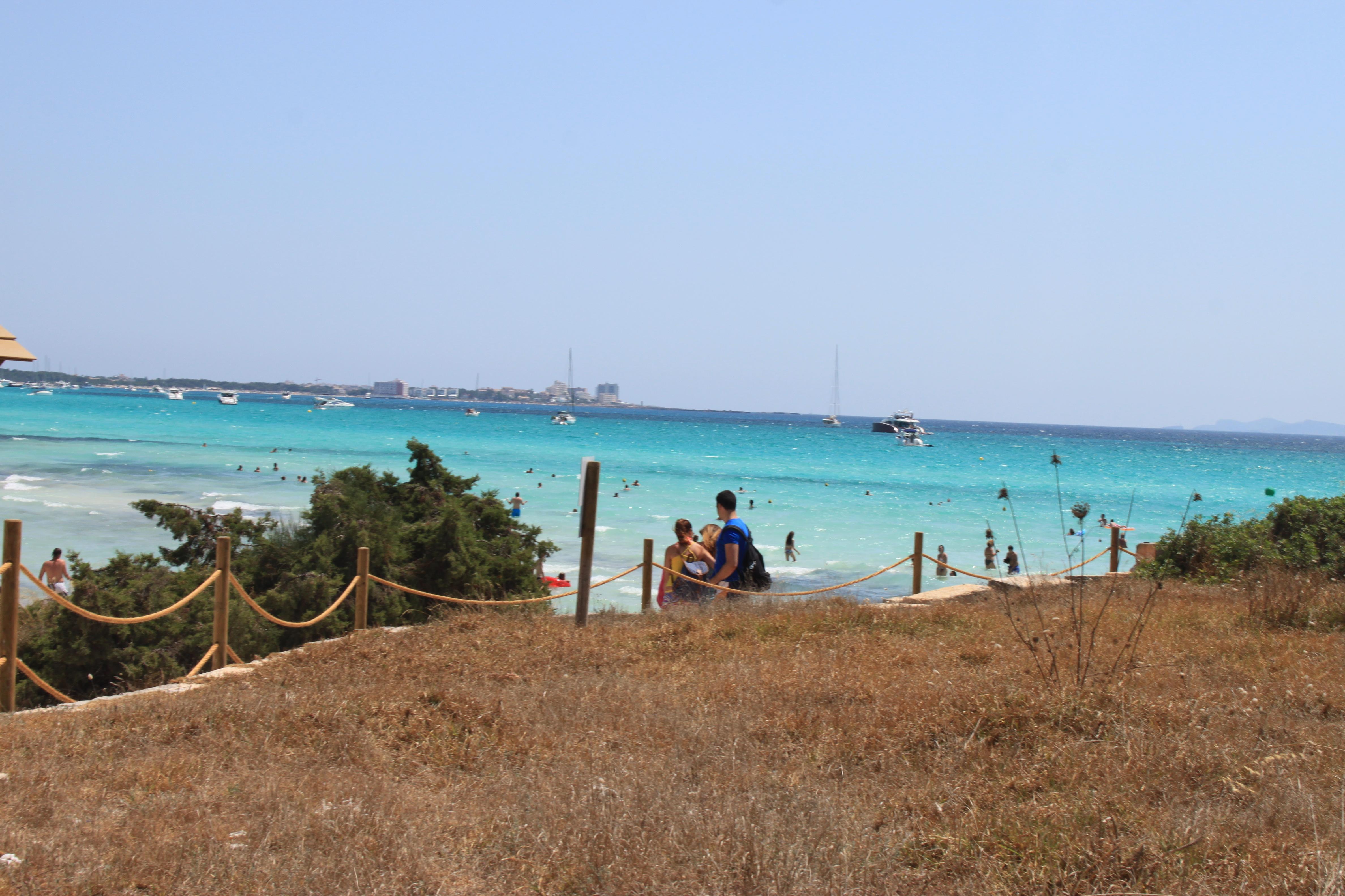 mare cristallino spiaggia es trenc di #viaggiareapois
