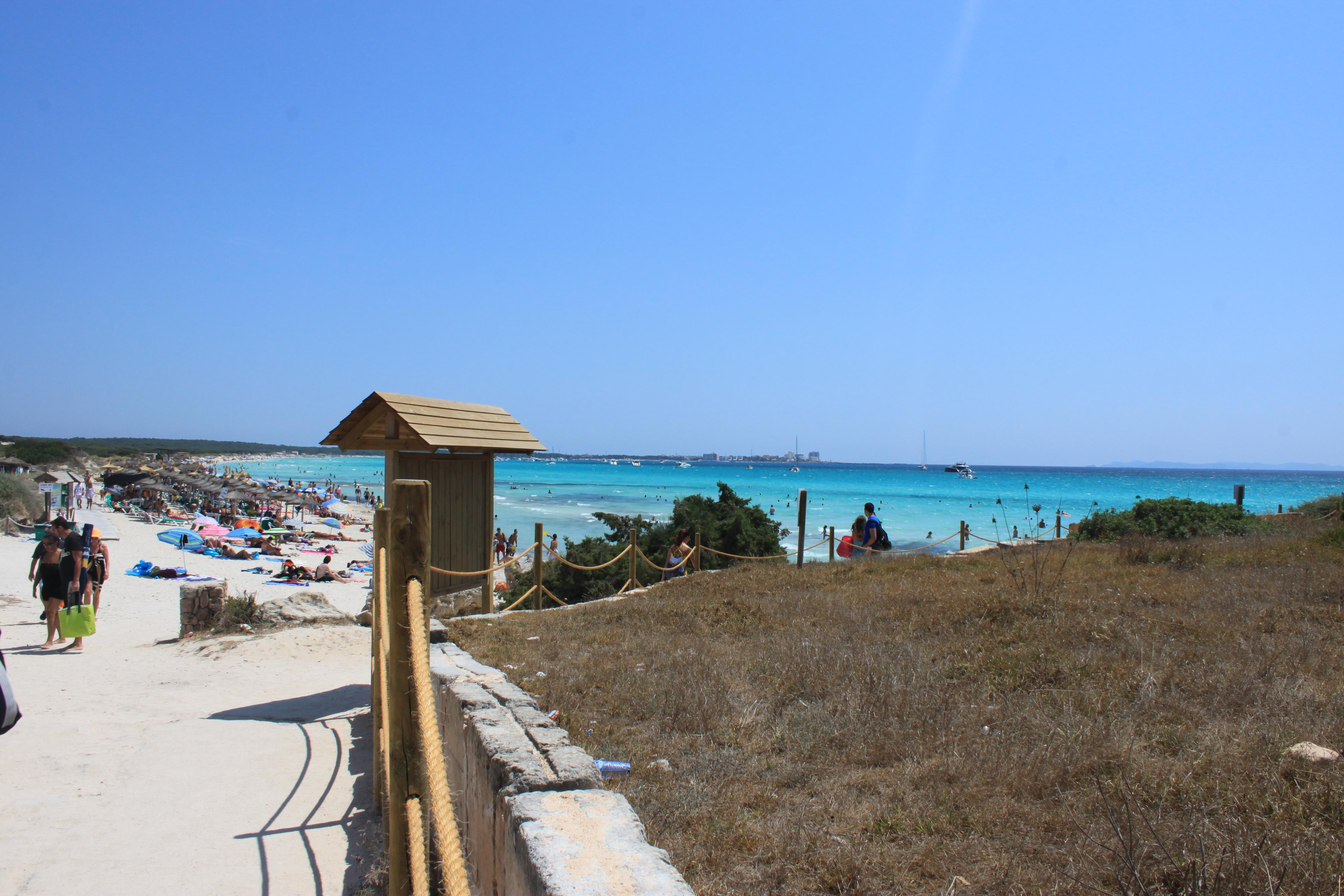meravigliosa spiaggia di es trenc di #viaggiareapois