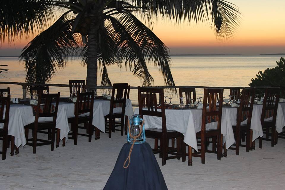 pranzo in riva al mare a Zanzibar di #viaggiareapois