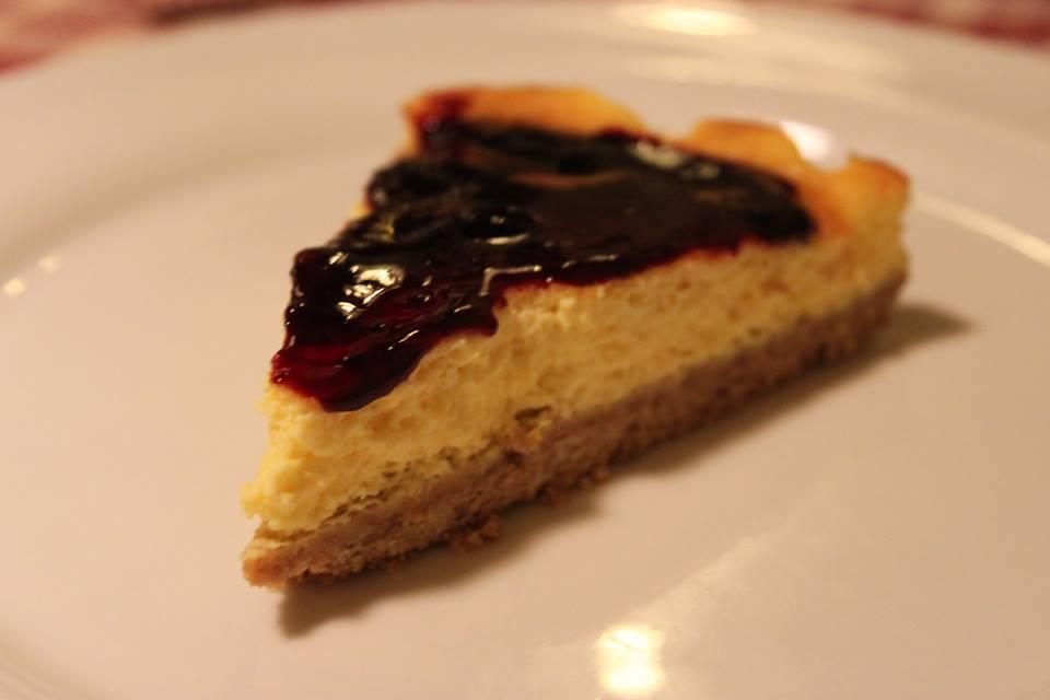 cheesecake osteria del michelas di #viaggiareapois