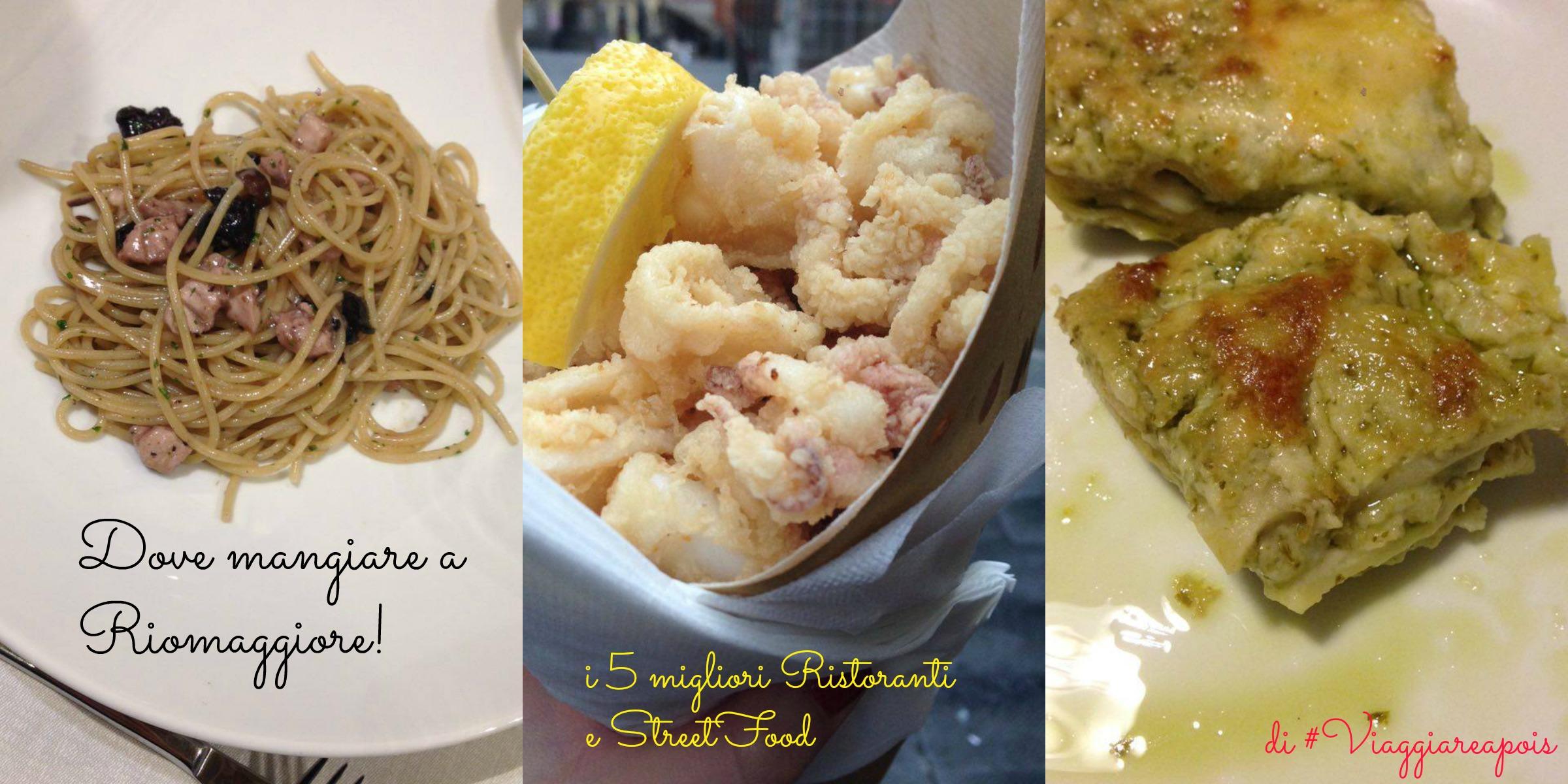 Dove mangiare a Riomaggiore. Ecco la lista!