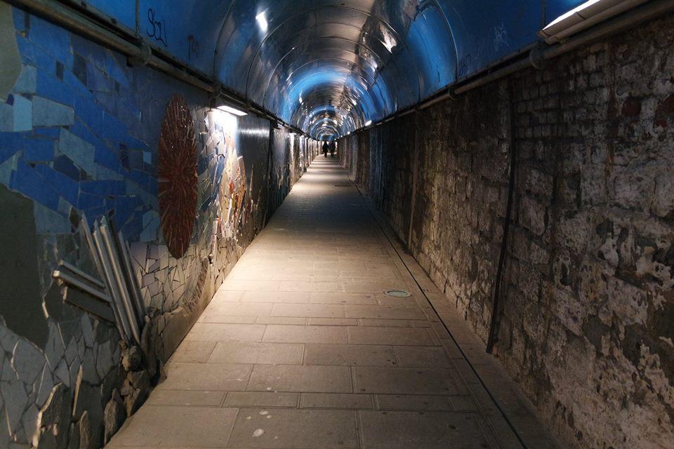 Tunnel mosaici di #viaggiareapois