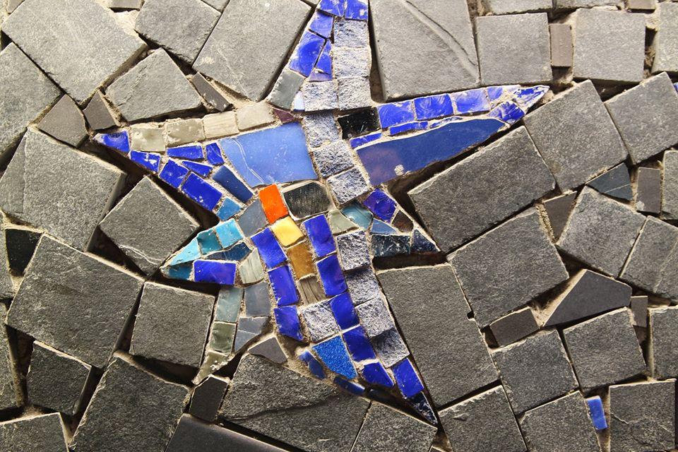 stella marina mosaico di #viaggiareapois
