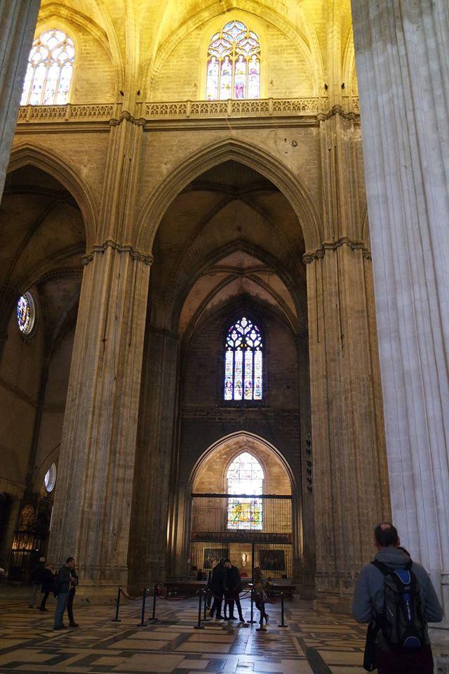 interno cattedrale di siviglia #viaggiareapois