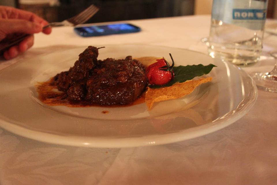 carne osteria del michelas di #viaggiareapois