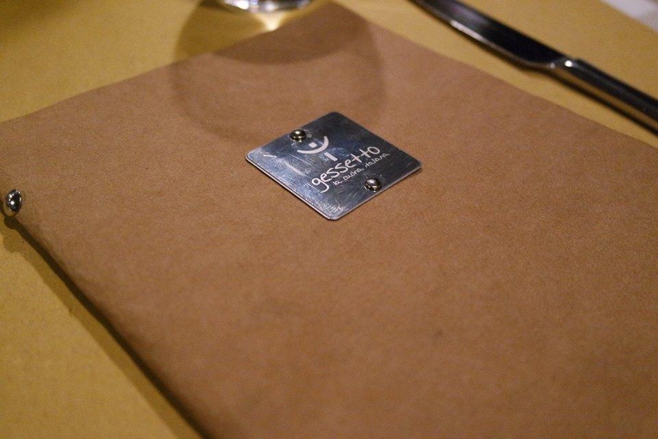 gessetto ristorante menù di #viaggiareapois