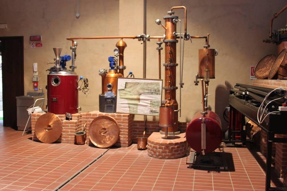 interno distilleria antico borgo san vitale di #viaggiareapois