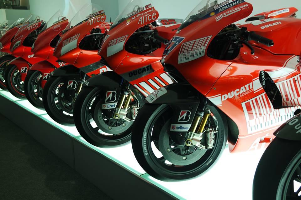 museo ducati moto gp vinte di #viaggiareapois