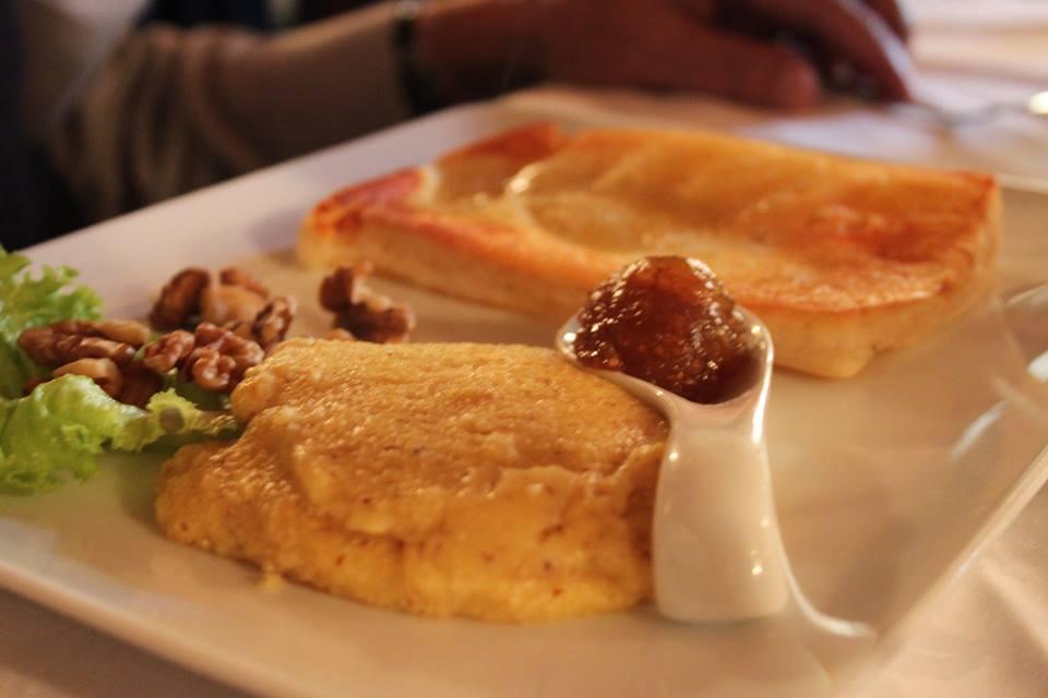 polenta e formaggio osteria del michelas di #viaggiareapois