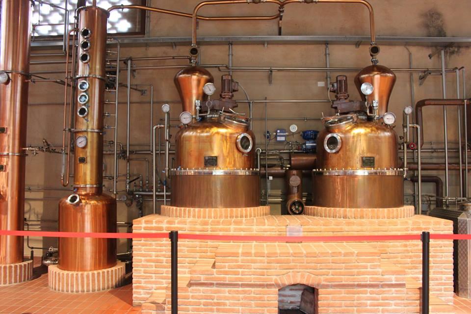 produzione dei liquori antico borgo san vitale di #viaggiareapois