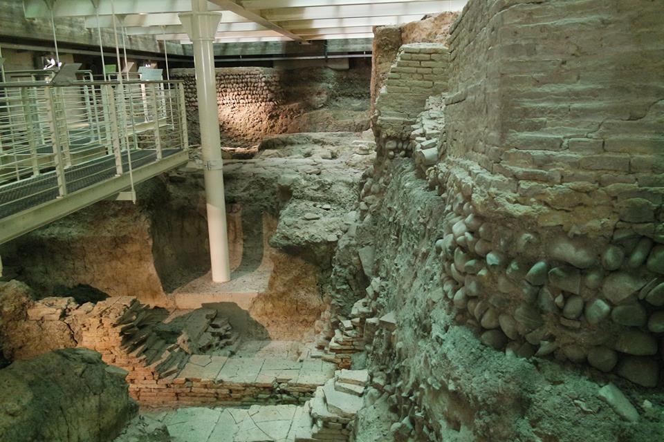 scavi romani biblioteca bologna di #viaggiareapois
