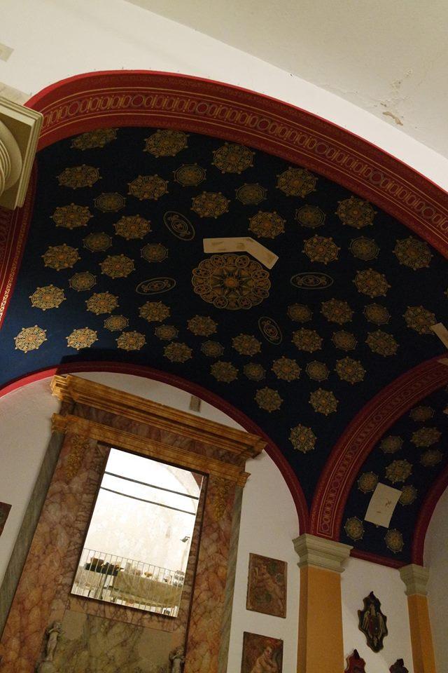 soffitto convento fiori di seta #viaggiareapois