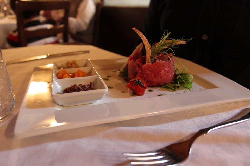 tartare osteria del michelàs di #viaggiareapois