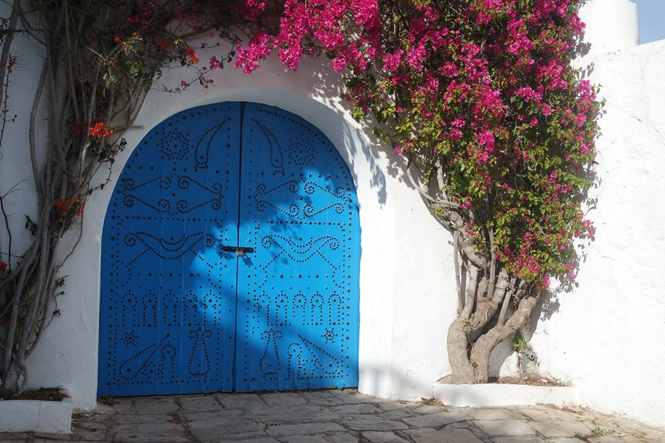 portone azzurro sidi bou said #viaggiareapois