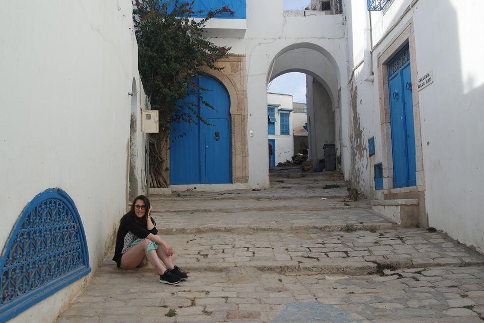 sara in sidi bou said #viaggiareapois