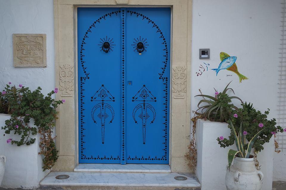 porta blu medina hammamet #viaggiareapois