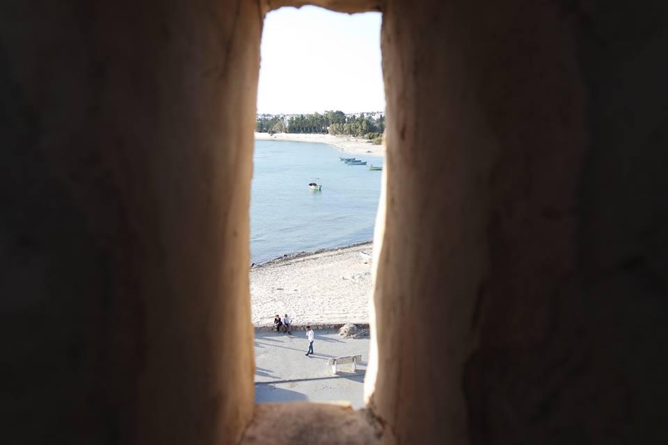 una finestra sul mare di hammamet #viaggiareapois