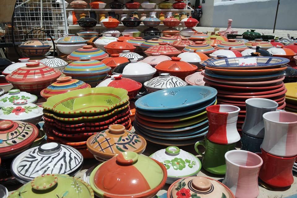 ceramiche houmt souk #viaggiareapois