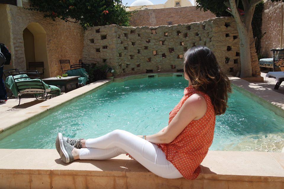 dar dhiara djerba hood piscina #viaggiareapois