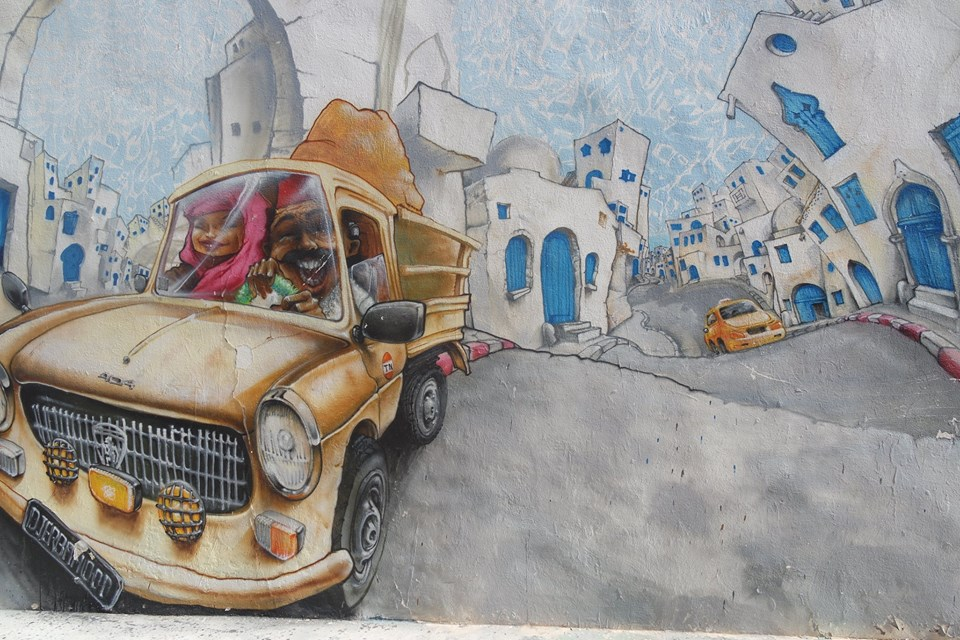 murales1 djerba hood #viaggiareapois