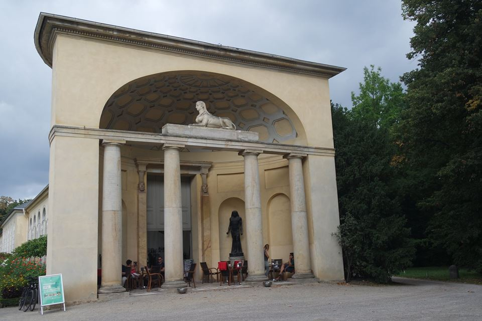 Antikenportal Orangerie potsdam #viaggiareapois