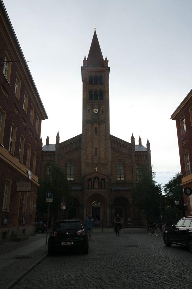 chiesa san pietro e paolo potsdam #viaggiareapois