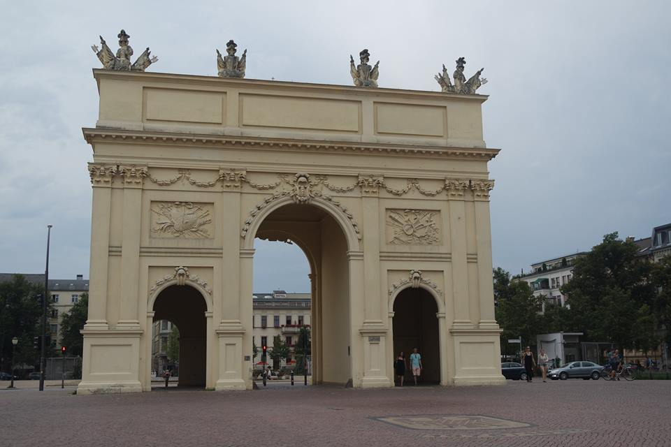 porta di brandeburgo potsdam #viaggiareapois