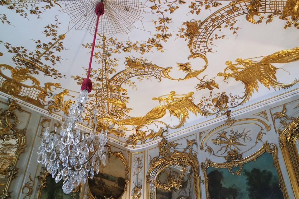 soffitto palazzo sanssouci #viaggiareapois