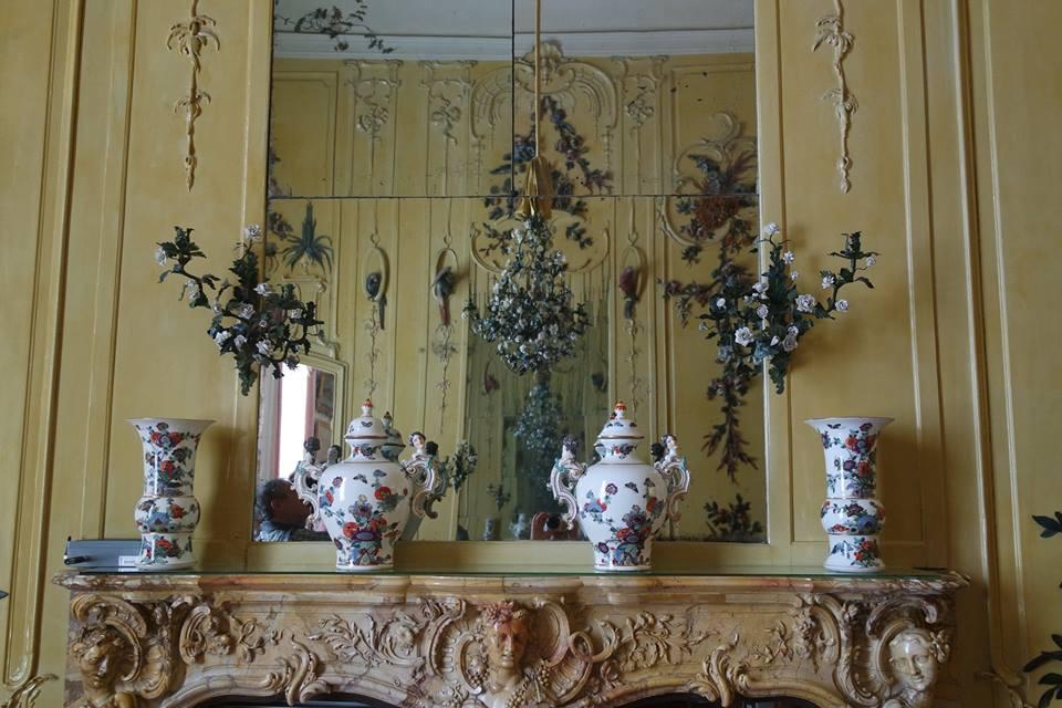 specchio palazzo sanssouci #viaggiareapois