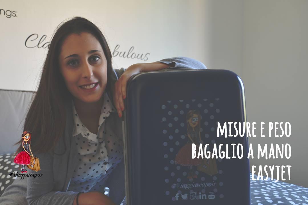 #TravelTutorial Misure e peso bagaglio a mano Easyjet